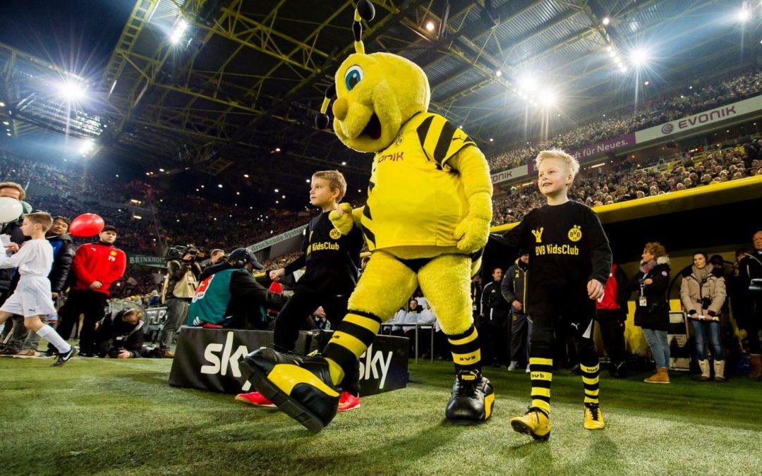 Die jungen Fans bei Borussia Dortmund