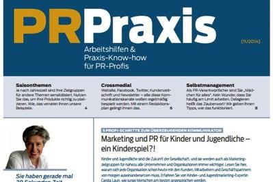 Marketing und PR für Kinder und Jugendliche – Ein Kinderspiel?!