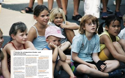 7 Schritte für erfolgreiches Kinder- und Jugendmarketing